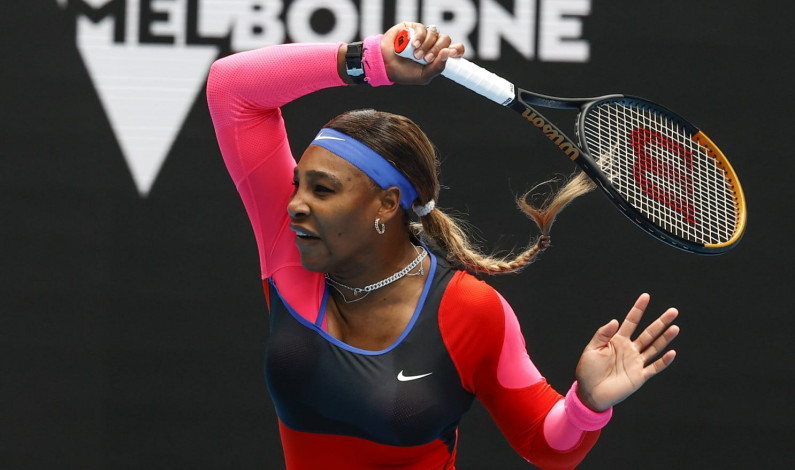 Serena Williams & Novak Djokovic Lolos ke Babak II Australia Open 2021