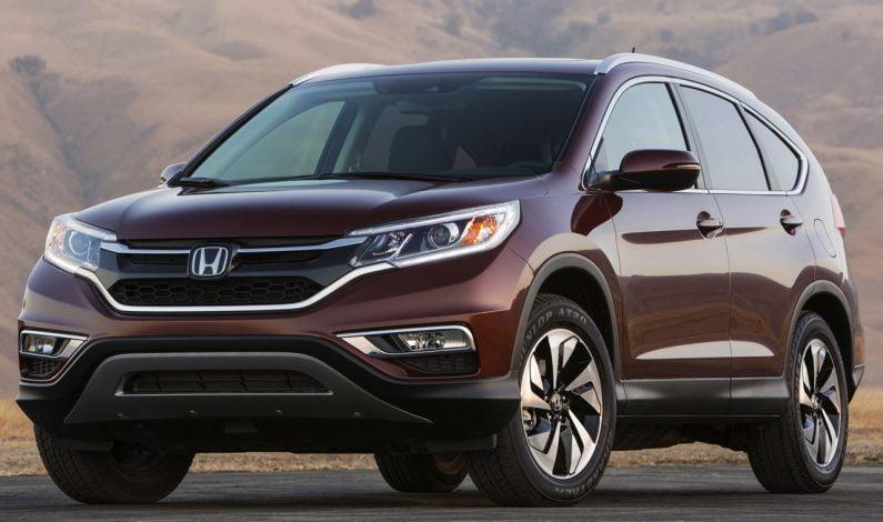 Honda CR-V Terbaru Generasi Kelima Akan Segera Hadir