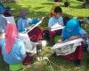 Ikuti FSI Ratusan Siswa SD Ikuti Lomba Membatik