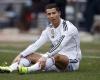 Jelang Pertandingan Lawan Napoli Ronaldo Alami Cidera