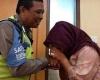 Akhirnya Dora Pun Meminta Maaf Kepada Aiptu Sutisna, Berikut Momen Tersebut