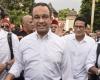 Anies dan Muhaimin Iskandar Bertemu di Pemakaman KH Hasyim Muzadi