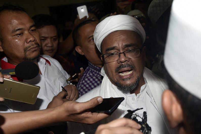 Polisi Hentikan Kasus Rizieq Adalah Tindak Lanjut Pertemuan di Istana Bogor?