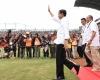 Nonton Bola, Presiden Jokowi: Rame Banget..