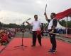 "Tembang ""Ke Jakarta Aku Kan Kembali"" Iringi Pamitan Soni dengan Ribuan PNS DKI"