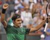 Roger Federer Dapatkan Posisi Kelima Pada Turnamen Indian Wells