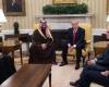 Pangeran Saudi Temui Trump di Gedung Putih Bahas Investasi Dengan AS