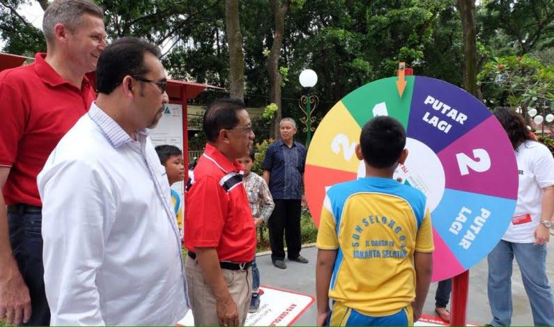 Taman Literasi Keuangan Juarai Inovasi Chairman's Challenge
