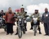 Kendarai Motor Trail, Jokowi Tinjau Pembangunan Ruas Jalan Trans Papua