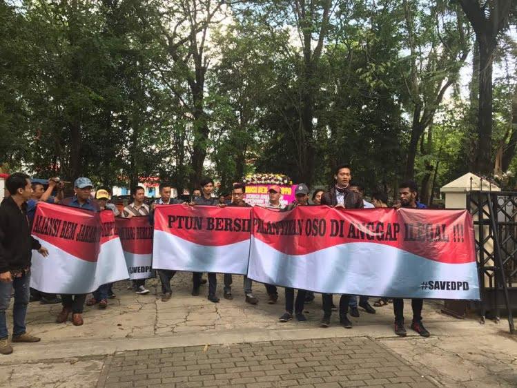 BEM se Jakarta Desak Putusan PTUN Sudahi Konflik di DPD