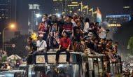 Perayaan Takbir Keliling di Jakarta Sebagian Besar di Dominasi Oleh Para Remaja