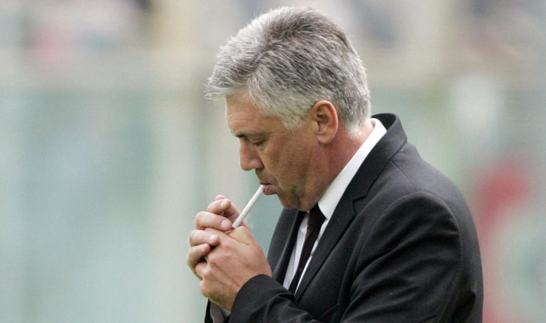 Apa Tanggapan Ancelotti Ketika Dilarang Merokok di Kompleks Latihan Bayern?