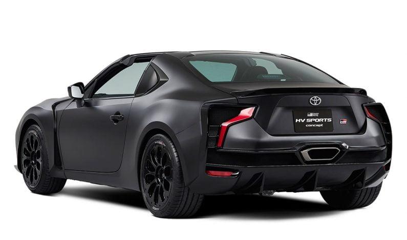 Toyota Rilis dan Pamerkan Mobil Konsep GR HV Sports di Tokyo Motor Show