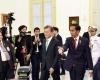 Di Bogor Presiden Korea Selatan Blusukan Beli Batik dan Minum Teh
