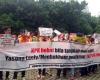 KOMPAK Kembali Gelar Aksi Demo Kasus Korupsi Jumbo E-KTP di KPK
