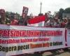 Koalisi Aksi Mahasiswa Gelar Aksi Unjuk Rasa Di Depan Istana Negara