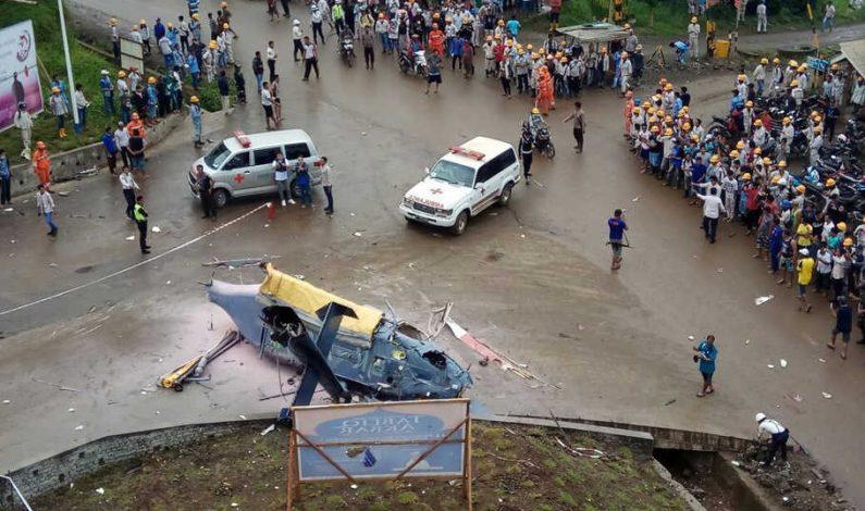 Angkut Warga Tiongkok, Helikopter Jatuh di Morowali, 1 Orang Tewas