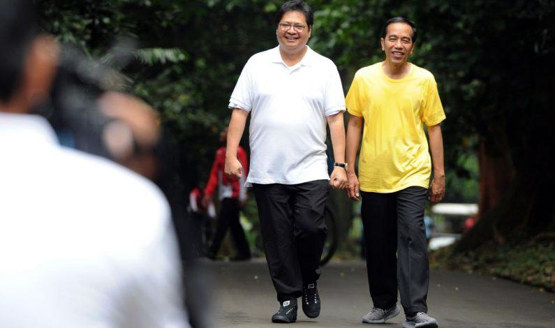 Airlangga Hartarto Cawapres Jokowi?