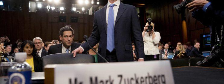Skandal Data, Senat AS Cecar Mark Zuckerberg