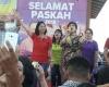 Pesan Maya Rumantir di Perayaan Paskah Universitas Sam Ratulangi