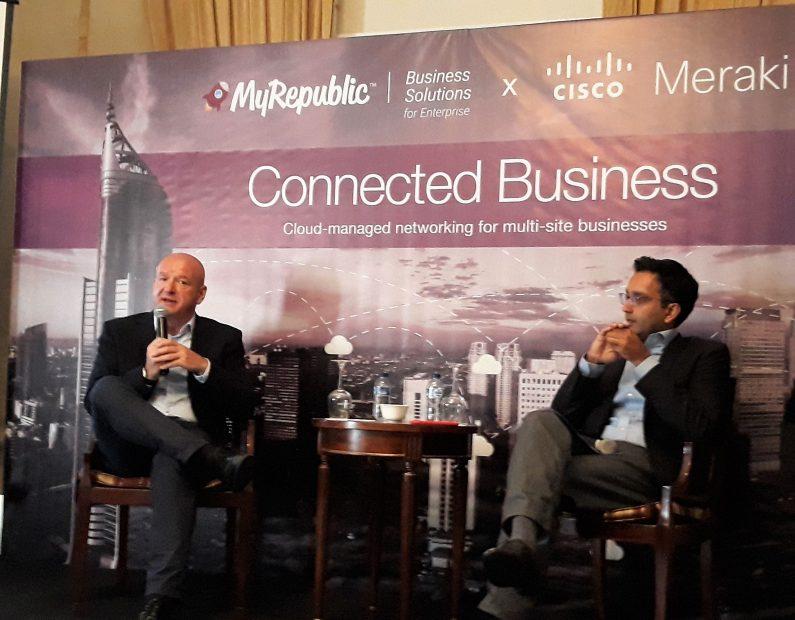 Launching MyRepublic Connected Business Hasil Kerjasama MyRepublic Dengan CISCO Meraki
