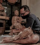 Bali Traditional Wood Carving (Prnewsfoto/The Ministry Of Tourism And Creative Economy (Motce))