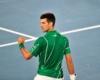 Petenis Serbia Novak Djokovic Samai Rekor Roger Federer