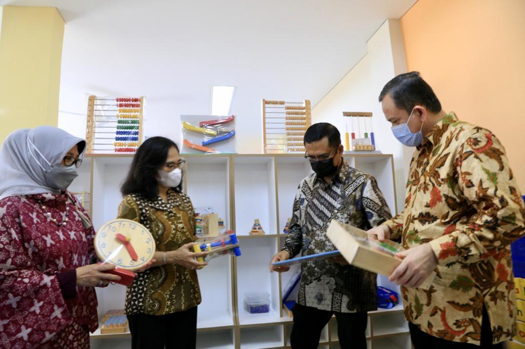 Tingkatkan Kualitas PAUD, Astra Renovasi Gedung PAUD Kasih Bunda
