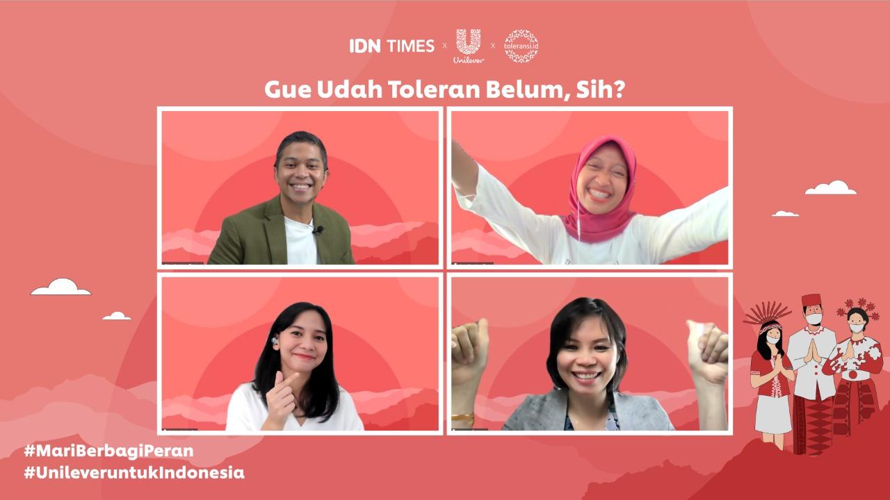 Maknai Hari Lahir Pancasila, Unilever Indonesia Ajak Generasi Muda Wujudkan Toleransi