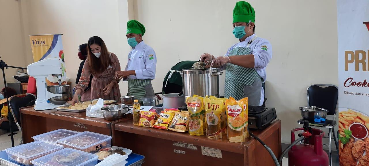 Dorong Masyarakat Berwirausaha, Pemkot Jakarta Utara Gandeng Apical Group Gelar Pelatihan Memasak